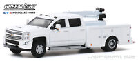PREORDER Greenlight Dually Drivers 4 2016 Chevrolet Silverado 3500 Crane Truck