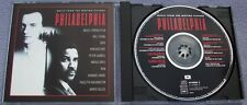 PHILADELPHIA Original Soundtrack BRUCE SPRINGSTEEN Peter Gabriel Neil Young Sade