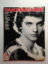 DANCE MAGAZINE AUG 1976 ROYAL DANISH BALLET  ROYAL BALLET  IB ANDERSEN