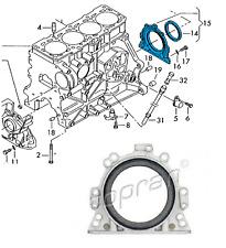 VW Audi SEAT Skoda - Flywheel Crankshaft Oil Seal & Flange - 06A103171A GERMANY