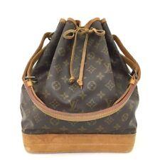 100% Authentic Louis Vuitton Monogram Noe Drawstring Shoulder Bag /40