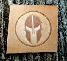 Spartan Leather Tooling Embossing / Clicker Stamp, Delrin, NEW #110