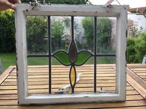 Alte Bleiverglasung   Glas  Fenster   BLEIVERGLASUNG   ANTIK   Bleiglasfenster