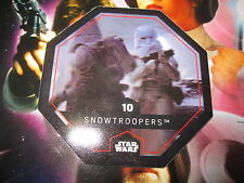 STAR WARS LECLERC CARTE JETON SNOWTROOPERS 10/54 COSMIC SHELLS FRENCH EXCLUSIVE