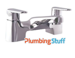 Luxury Bath Tap Mixer Filler - SHEER by Mark Vitow - Metal, Chrome, Basin, Taps