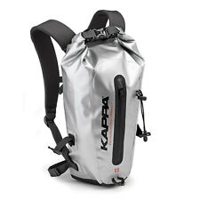 Kappa Waterproof Roll Top Backpack Rucksack Lightweight Dry Bags Sack Grey