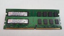 Hynix 4GB(2X2GB) PC2-6400 DDR2-800MHz non-ECC Unbuffered CL5 240-Pin DIMM D-RK