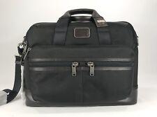 Tumi Alpha Bravo Patrick Brief Laptop Computer Shoulder Bag Hickory 222644 HK2