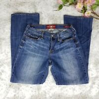 Lucky Brand Sofia Boot Jeans Women Size 10/30 Ankle Blue Denim Pants