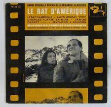 Rat d'Amérique 45 tours Aznavour Laforet Garvarentz 1963