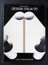 DESIGN ITALIA '70 Davide Mosconi A. MAURI Giò Ponti Sottsass Munari Castiglioni