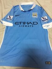 100% Official Authentic Player Manchester City Home 15/16 De Bruyne Jersey