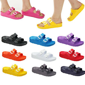 Ladies & Girls Slipper Sandals Size 3 to 8 UK SLIP ON SLIDERS - GREAT XMAS GIFT