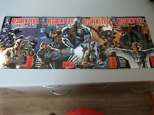 Resident Evil Fire and Ice #1 - 4 Wildstorm Comics - December 2000