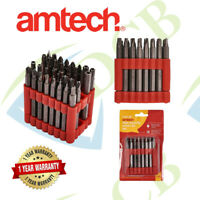 32PC 75mm POWER BIT SET Long Torx Star Hex Hole Security Tamperproof Screwdriver