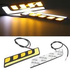 2 x 16cm L Shape COB LED Daytime Running Lights DRL incl Indicator - Peugeot Car