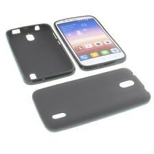 Case for Huawei Ascend Y625 Cell Phone Pocket Cases TPU Rubber Case Black