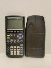 Texas Instruments TI-83 Plus Graphing Calculator with case TESTED WORKS
