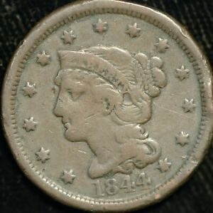 USA Cent 1836 Matron Head KM#67 (T119)