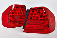 BMW 3 Series E90 Sedan 2008-2011 Facelift Outer Tail Lights Rear Lamps PAIR OEM