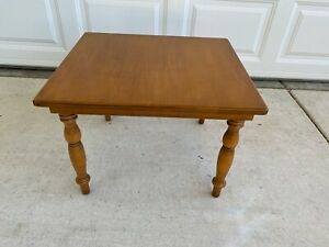 Conant Ball Mid-Century Modern End Table For Surfboard Coffee Table