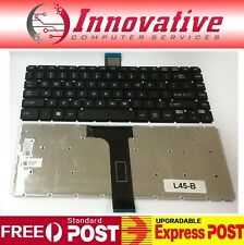 Keyboard for Toshiba Satellite L40 L45 L50 Series Black With Frame