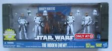 Star Wars Clone War 4 Pack CLONE TROOPERS THE HIDDEN ENEMY:Rex,Slick,Chopper,Gus