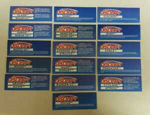 Lot of Dscraft Label , Cardboard Tags,