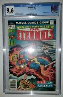 The Eternals #3 CGC 9.6 NM+ White Pages. 1st Appearance of Sersi. Hot Movie Key!