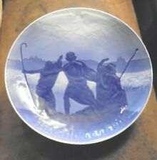 1911 B&G Bing & Grondahl Christmas Jule After Denmark Plate