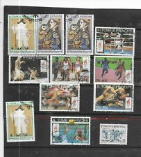 SAO TOME PRINCIPLE. SELECTION OF 12. VERY FINE USED . AS PER SCAN