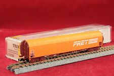 "Minitrix 15694 SNCF Schiebeplanenwagen""FRET""in orange/NEU/OVP"