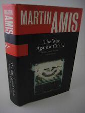 1st/1st Printing THIS WAR AGAINST CLICHE Martin Amis ESSAYS & REVIEWS 1971-2000
