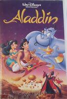 Walt Disneys Meisterwerk Aladdin VHS Kassette | Erstauflage | Hologramm