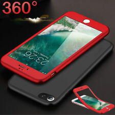 360 Case For iPhone X 8 Plus Hybrid Ultra Thin Shockproof Silicone Full Cover