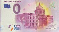 BILLET 0  EURO BERLINER SCHLOSS 1  ALLEMAGNE 2017 NUMERO 1100