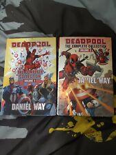 More details for deadpool daniel way omnibus vols 1&2, superb