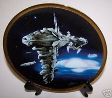 Star Wars Plate Medical Frigate Space Vehicles X-Wing Certificate of Authenticit