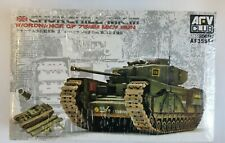 AFV Club British Churchill MK III Infantry Tank 75mm MK V Gun 1/35 Scale Model