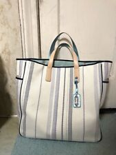 COACH LEGACY Summer BEACH EDITORIAL WOVEN PARRISH Travel TOTE 23476 Large Vacay