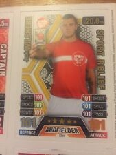 MATCH ATTAX 13/14 JACK Wilshere Sport Sollievo 101-101 CARD con Mata RARA ora
