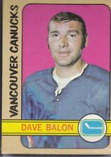 1972-73 TOPPS HOCKEY DAVE BALON #117 CANUCKS EX+ *59130