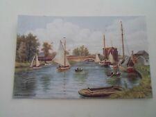 A R QUINTON Postcard *2876 WROXHAM BRIDGE  §B279 Great Vintage Postcard