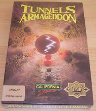 Amiga: Tunnels of Armageddon   - California Dreams 1989 *New*