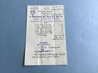 Mapleton's Nut Food Co Ltd 1916 Nut Cream Butters Liverpool  receipt R34957