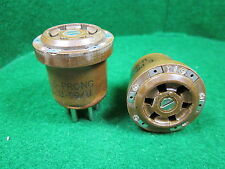 (1) U-99/U 6 PIN TUBE TEST SOCKET ADAPTER Mil Spec NOS