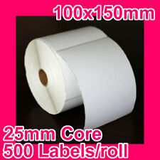 16 rolls of 100x150mm Thermal Direct Label for Zebra/TSC/SATO/DATA MAX/Intermec