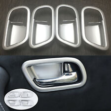 For Nissan Patrol Y62 2011- 2017 Interior Door Handle Bowl Frame Cover Trim 4PCS