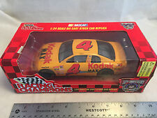 1998 Racing Champions Bobby Hamilton #4 Kodak Max Chevy NASCAR 1:24 Scale in Box