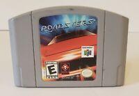 Roadsters Nintendo 64 N64 Video Game Cart Super Fun Retro Kids Racing